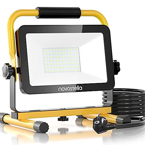 Novostella LED Baustrahler 60W 6000LM (Ersetzt 450W) LED...