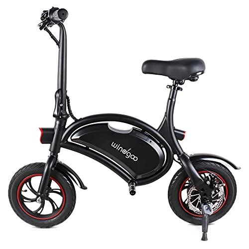 Windgoo E Scooter mit Sitz, E-Bike, 350W 36V 6AH City Blitz...