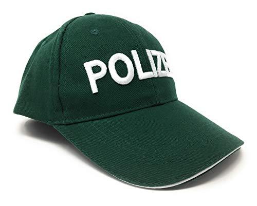 DDS Kinder Baseball Polizeimütze - Polizei Cap für Kostüm zu...