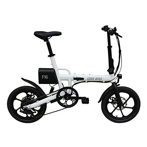 SRXH E-Bike E-Bike E-Bike Elektrofahrrad 16 Zoll E-Bike mit...