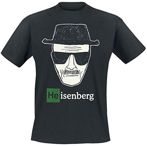 Breaking Bad Heisenberg Männer T-Shirt schwarz 5XL 100%...