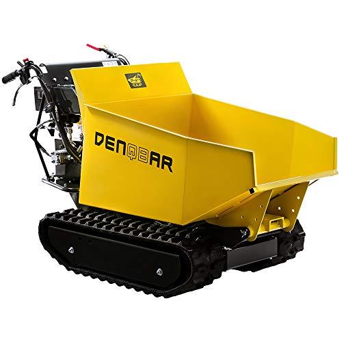DENQBAR Mini-Dumper Motor-Schubkarre Muldenkipper Raupenantrieb...