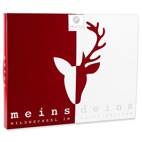 Peters Adventskalender 'Meins & Deins' für Paare   Pärchen...