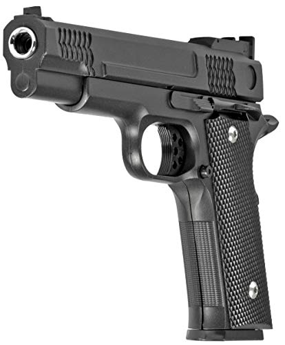Evil Wear Softair Gun Set Airsoft Vollmetall Federdruck Pistole...