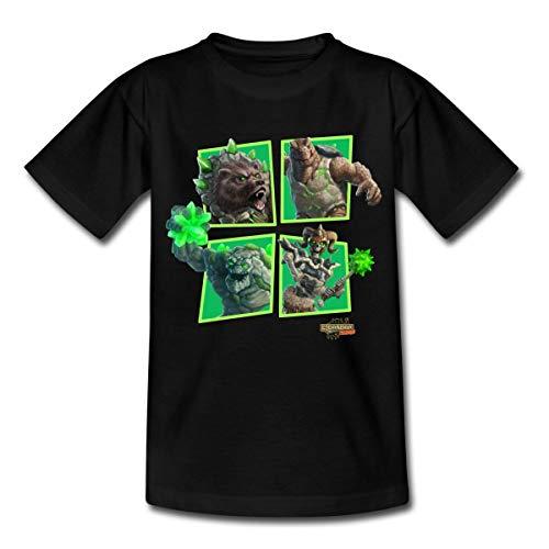 Schleich Eldrador Monster Steinwelt Kinder T-Shirt, 122-128,...