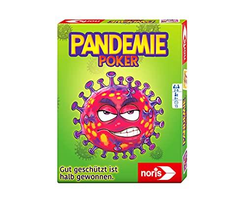 noris 606264517 Pandemiepoker, Das Kartenspiel bei dem gut...