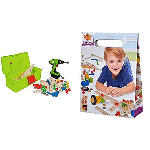 Eichhorn 100039079 Constructor Werkzeugbox, inkl. kompakt...