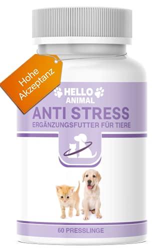 Hello Animal Anti Stress Presslinge – hochdosiert Baldrian...