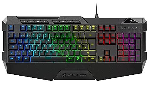 Sharkoon Skiller SGK4 Gaming Keyboard RGB, N-Key-Rollover,...