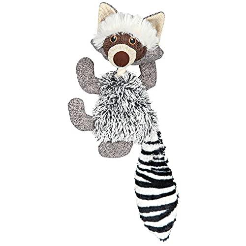TRIXIE Waschbär, Plüsch-Spielzeug für Hunde, 49cm