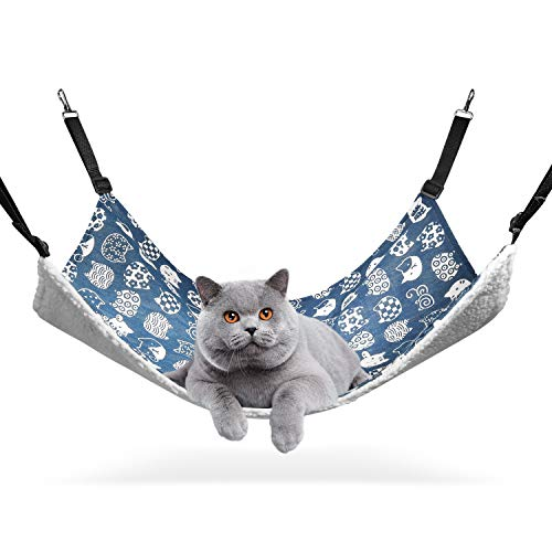 ComSaf XL Hängematte für Gross Katzen, Katzen 56 x 48cm,...