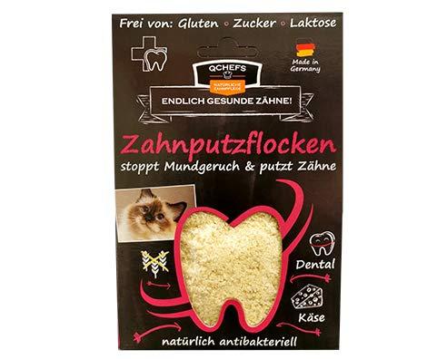 Qchefs Katzen Zahnputzflocken| Zahnpflege- Snack|...