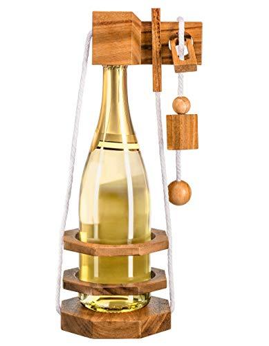 Zederello, Flaschenpuzzle für Champagner Sekt Wein,...