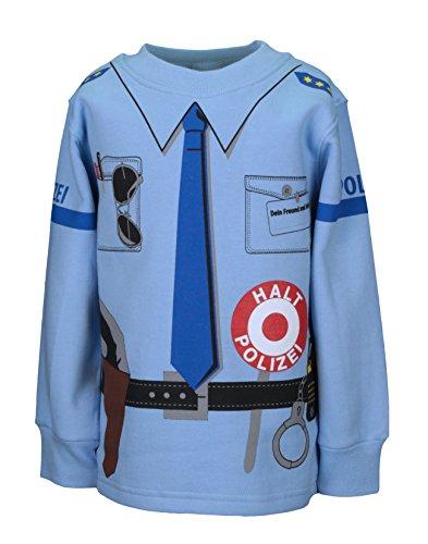 Alfa Company Kinder Uniform Sweat Polizei - blau- Größen von 92...