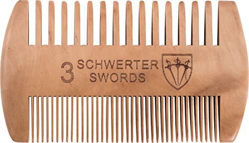 Drei Schwerter - Bartkamm ´Barba` für die anspruchsvolle und...