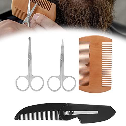 Bartpflege-Set, einfaches Tragen und Reinigen des Bartpflege-Sets...