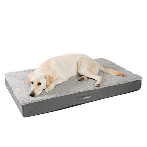 JAMAXX Orthopädische Hunde-Matratze Gelenkschonend Memory Visco...