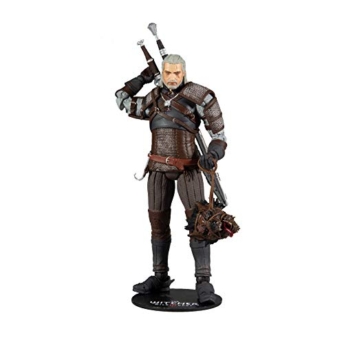 McFarlane The Witcher Actionfigur Geralt 18 cm, Mehrfarbig,...