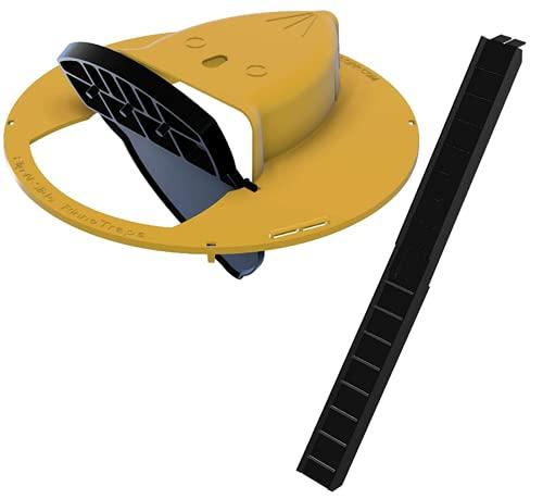 ZGHYBD Flip Mouse Trap Mit Leiter, Innen- Und Außenbereich...