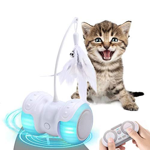 Berein Katzenspielzeug Elektrischer Interaktives Intelligenzspielzeug für Katzen,13...