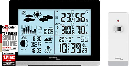 Technoline edel und modern die WS6762 moderne Wetterstation,...