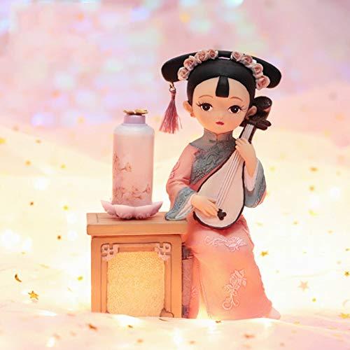 OMYLFQ Statuen Puppet Ornament Kleine Geschenke mit chinesischen...