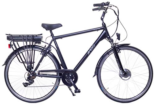 Amigo E-Active - Elektrofahrrad für Herren - E-Bike 28 Zoll -...