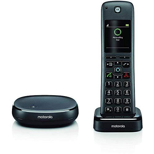 Motorola AHXO1 - DECT Schnurlostelefon - 2' Farbdisplay, Alexa...