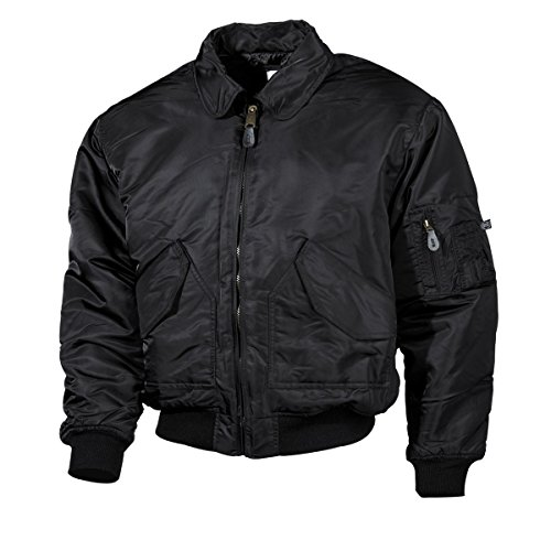MFH US Airforce CWU Pilotenjacke Basic (Schwarz/L)