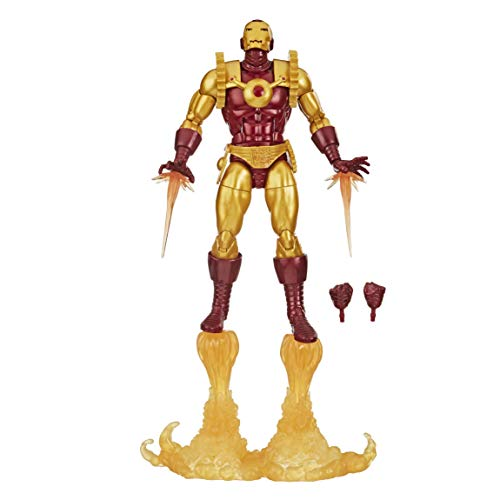 Hasbro Marvel Legends Series 15 cm große Iron Man 2020 Action-Figur, enthält 8 Accessoires,...