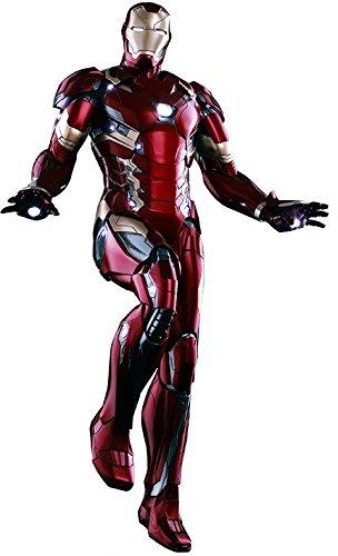 "Hot Toys ""Iron Man Mk XLVI Power Pose""-Figur, HT902622, im..."