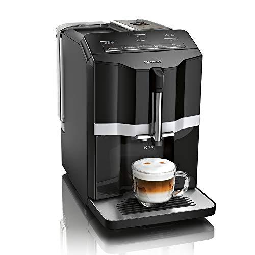Siemens EQ.300 Kaffeevollautomat TI351509DE, kompakte Größe,...