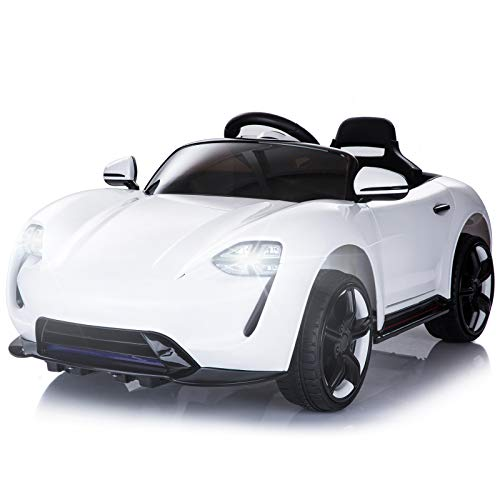 HOMCOM Kinderauto Elektroauto Kinderfahrzeug Kinderwagen mit...