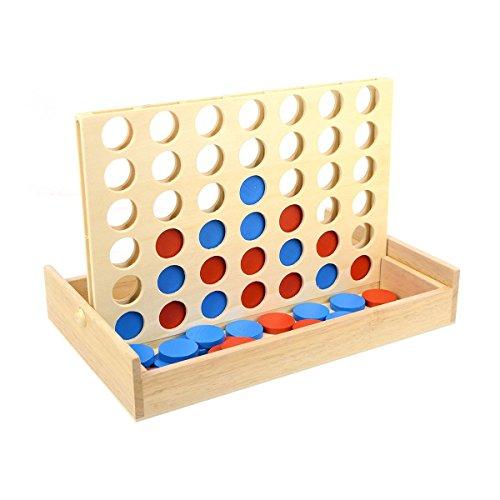 TOYMYTOY 4 gewinnt Pädagogisches Spielzeug Vier in Einer Reihe...