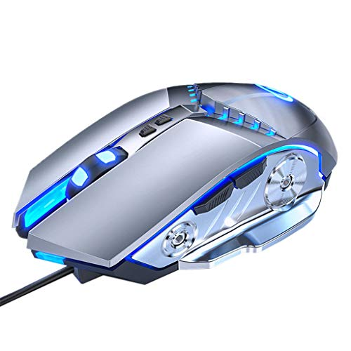 yuwei verdrahtete Gaming-Maus einstellbar 3200 DPI mechanische...