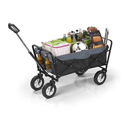 EASYmaxx Bollerwagen klappbar | Transportwagen mit...