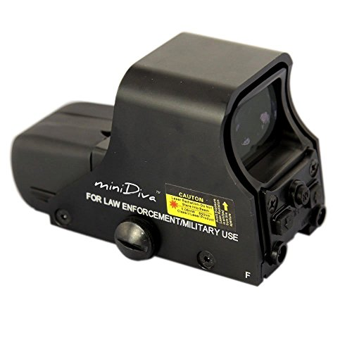 Minidiva® 551 Holographic Sight Red Green Point Visier / Dot...