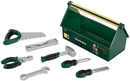 Theo Klein 8573 Bosch Werkzeug-Box I 7-teiliges Werkzeug-Set I...