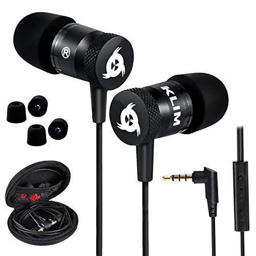 KLIM Fusion Kopfhörer in Ears mit Mikrofon - Langlebig -...