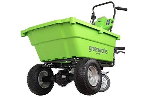 Greenworks–40V Akku-der Sackkarre 106L, ohne Akku und...