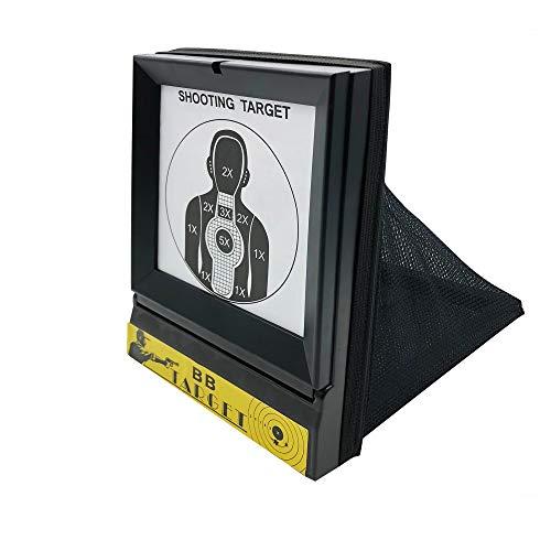 Zielscheibe mit Kugelfang Netz 03-B1 Rayline - Papierziel -...