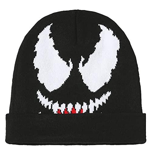 PRETAY Marvel Venom Men' s Beanie Superhero Snow Skull Cap...