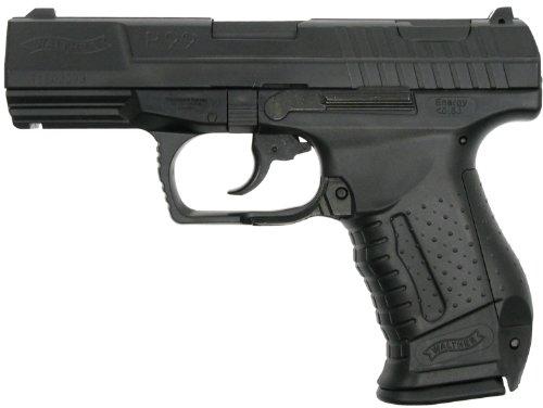 Walther P99 Softair / Airsoft, Federdruck, Lizenzversion, mit Ersatzmagazin, schwarz  0,5...