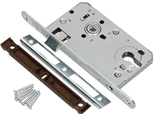 KOTARBAU® Einsteckschloss 72/55mm DIN Links Profilzylinder...