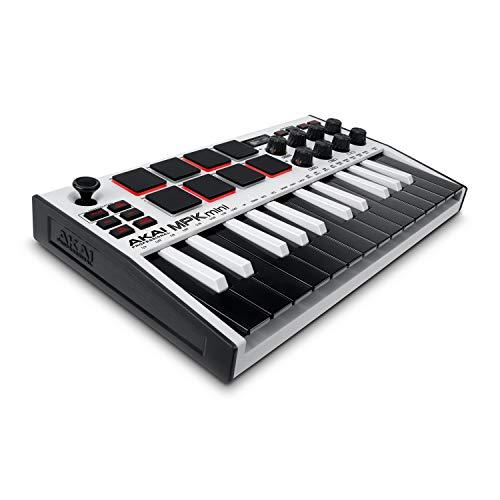 AKAI Professional MPK Mini MK3 White – 25-Tasten USB MIDI...