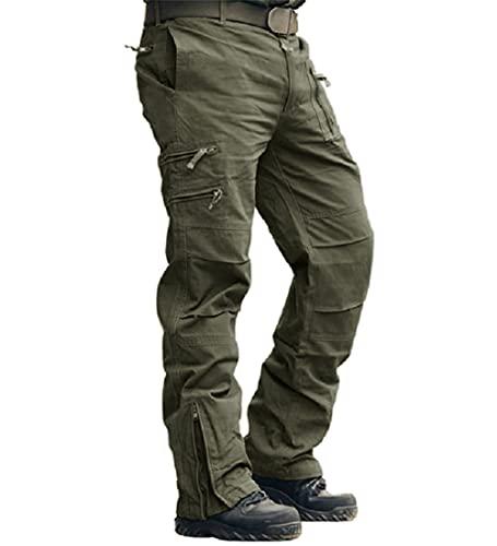 MAGCOMSEN Herren Hose Slim Fit Tactical Hose Männer Baumwolle...