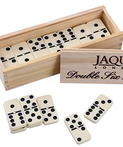 Jaques Von London Domino Spiel | Doppel 6 Dominosteine | Spiele...