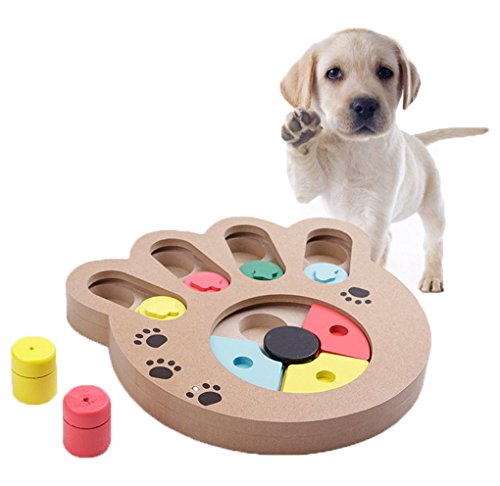 YJZQ Hunde Intelligenzspielzeug Strategiespiel Toy IQ Training...