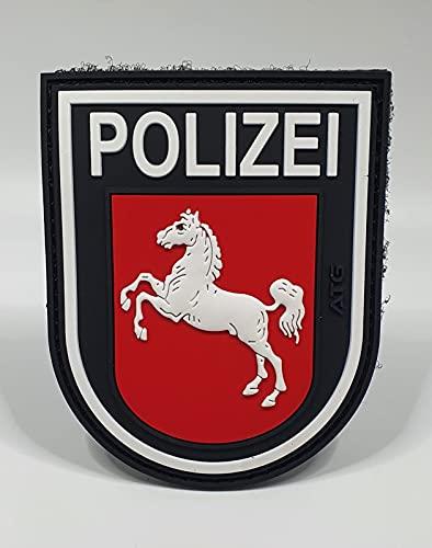 ATG Ärmelabzeichen Polizei Niedersachsen 3 D Rubber Patch...