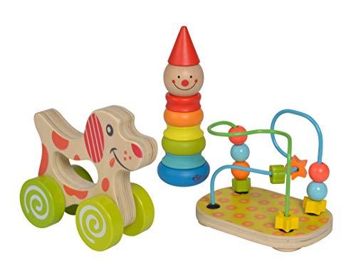Eichhorn 100003750 Lernspielset bestehend aus Steckfigur Clown,...